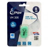 Vikingman VM306 Q-Drive Soft Touch Rubber flash drive USB 3.0 - 8GB